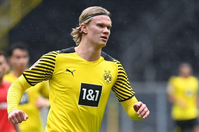 Dortmund's Norwegian forward Erling Braut Haalandcould be on the move this summer as Man City seek a replacement for Sergio Aguero.