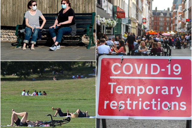 The UK could see a surge in Covid infections over the summer months, a scientist has warned (Photo: Shutterstock and Justin Tallis/AFP via Getty Images)
