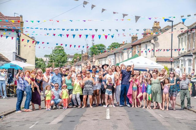 People have been showing gratitude by getting together to thank members of their local communities (Picture: Thank You Day)
