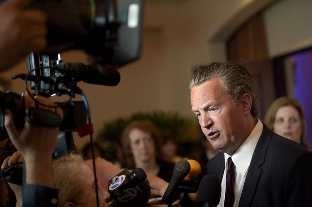 Matthew Perry has been open about his past drug use (Photo by Jason Kempin/Getty Images)