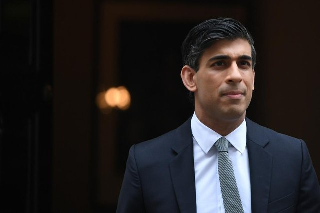 Rishi Sunak has said employees will 'vote with their feet' and leave for rival firms if they end up working from home full time (Getty Images)