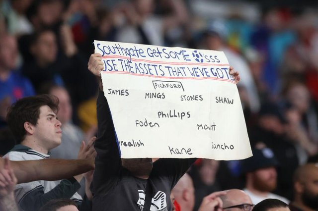 Gareth Southgate continues to receive advice from England fans as to which team he should play at Euro 2020.