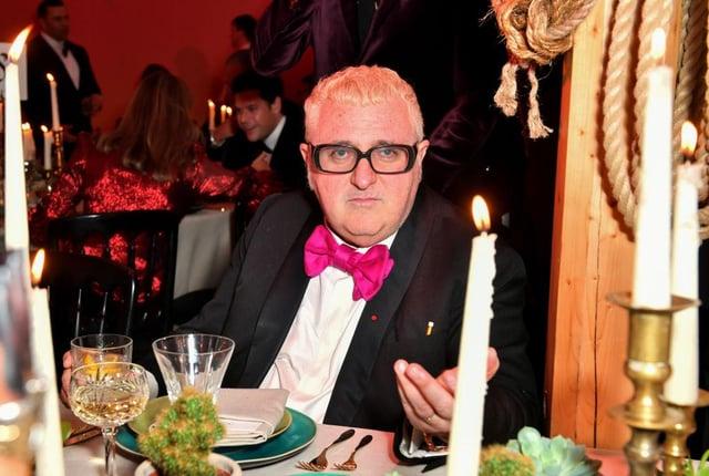 Alber Elbaz attending the gala dinner, in honour of Stella McCartney, winner of the Global VOICES Award for 2018, during #BoFVOICES on November 30, 2018 in Oxfordshire.