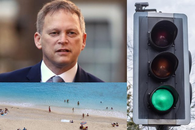 Grant Shapps is in charge of the Global Travel Taskforce (Getty Images)