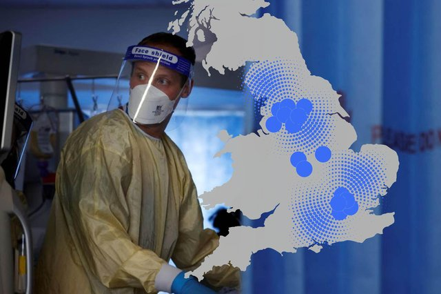 Cases of the Delta Covid-19 variant have increased by 46 per cent in a week across England (Composite: Kim Mogg / JPIMedia)
