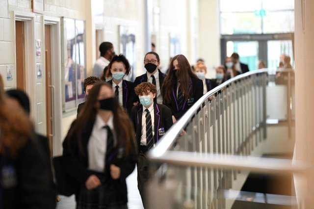 Covid tests carried out during the second week after schools reopened showed an increase in the virus in school years 7 to 11 (Getty Images)