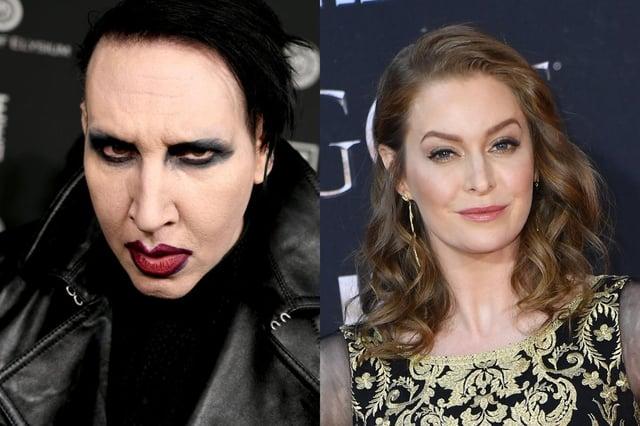 Bianco met Manson in 2005 through his ex-fiance, Dita Von Teese (Photo: Kevin Winter/Angela Weiss/Getty Images)