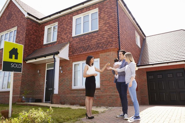 Figures reveal the average property in the UK is now valued at £250,341, according to the government's House Price Index. (Pic: Shutterstock)