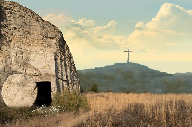 Easter Sunday is a celebration of the day when Jesus rose from the dead and ascended into heaven (Picture: Shutterstock)