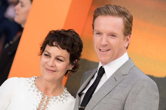 Damian Lewis paid tribute to his wife on Friday afternoon (Getty Images)