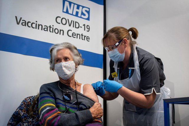 Studies have already shown that both vaccines are highly effective at stopping people getting sick and ending up in hospital (Photo: Victoria Jones - Pool / Getty Images)