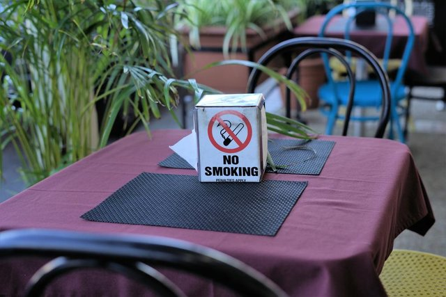 Five councils in the north of England have banned smoking at tables on pavements outside restaurants, bars and pubs (Photo: Shutterstock)