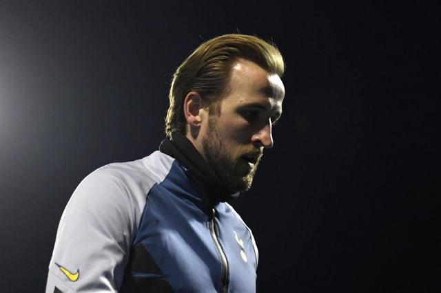 Harry Kane of Tottenham. (Photo by Jurij Kodrun/Getty Images)