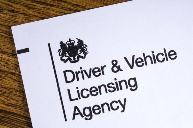 DVLA staff are going on strike for four days due to a row about Covid safety (Photo: Shutterstock)