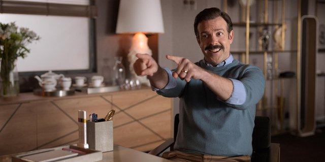Jason Sudeikis in Ted Lasso (Apple TV)