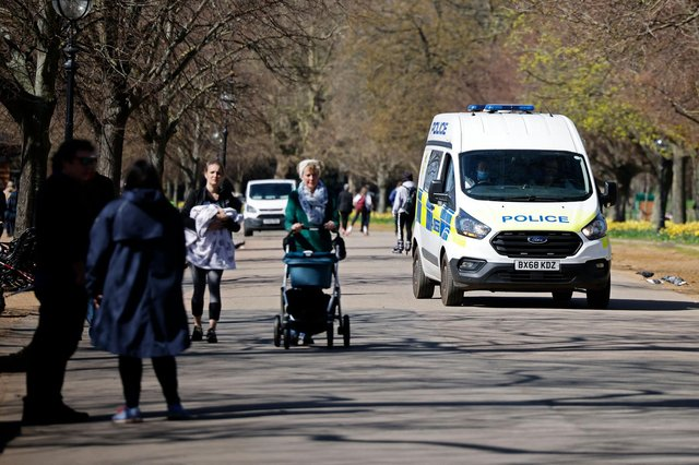 Police issue warning about'selfish' gatherings over Easter weekend (Photo by TOLGA AKMEN/AFP via Getty Images)
