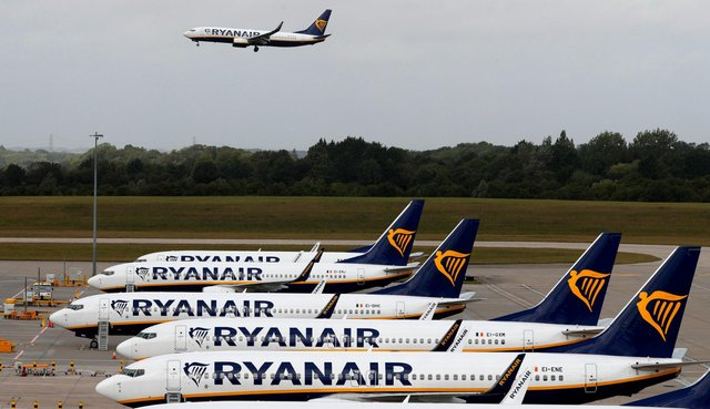 Ryanair plans to run roughly 2,300 flights per day in summer (Getty Images)