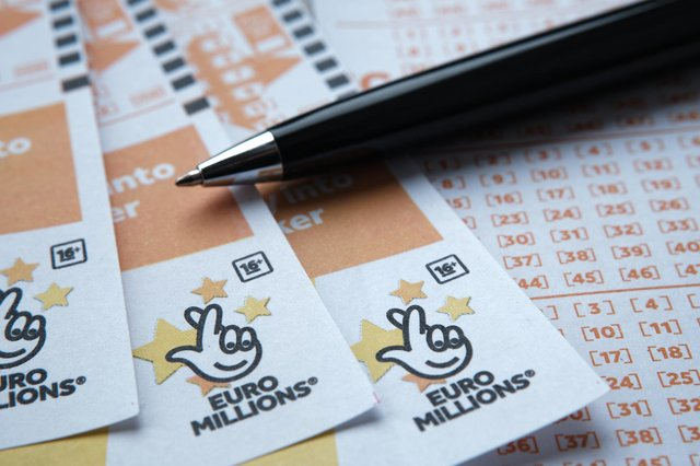 It is the second time this month that a lucky UK player has won the EuroMillions jackpot