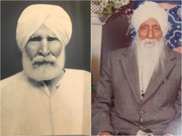 Mehre Singh and Jagat Bains were both soldiers in the Second World War.