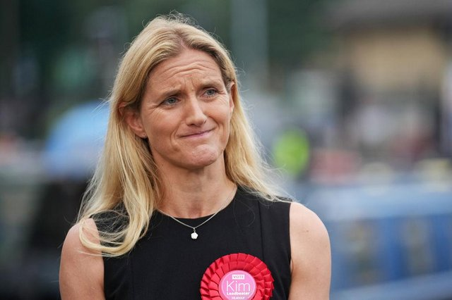Batley and Spen by-election results: Kim Leadbeater is the new MP for Batley and Spen as Labour clings on by 300 votes (Photo by Christopher Furlong/Getty Images)
