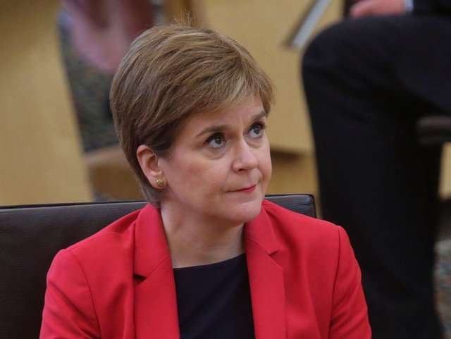 Nicola Sturgeon outlined plans for the first 100 days of Government (Getty Images)
