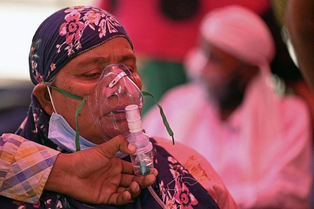 The UK has begun sending ventilators and oxygen concentrator devices to India (Photo: Sajjad Hussain/AFP via Getty Images)