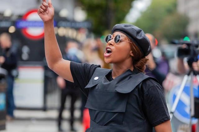 Sasha Johnson was found with life-threatening injuries in Southwark, London, on Sunday (23 May) (Photo: Shutterstock)