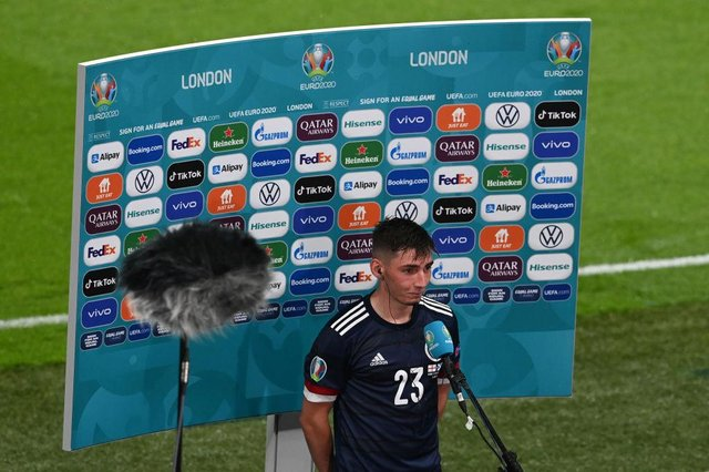 Billy Gilmour. (Photo by Facundo Arrizabalaga - Pool/Getty Images)