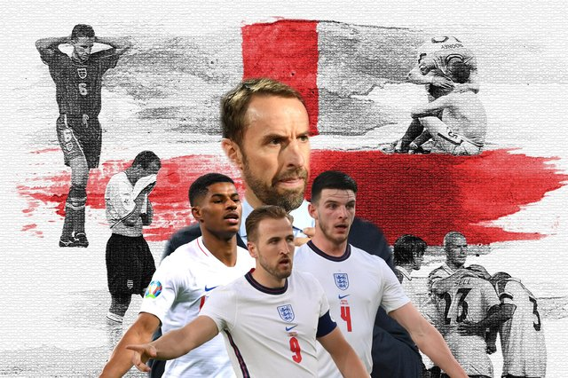 England are looking to win a first men's major football tournament since the 1966 World Cup at Euro 2020. (Graphic: Mark Hall / JPIMedia)