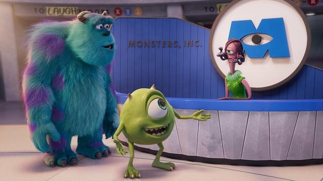 Sulley and Mike in Monsters at Work (Disney)