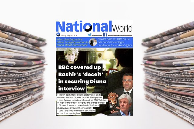 Inquest finds Bashir used 'deceitful behaviour' to secure famous 1995 interview with Diana –NationalWorlddigital front page (Photo: NationalWorld)