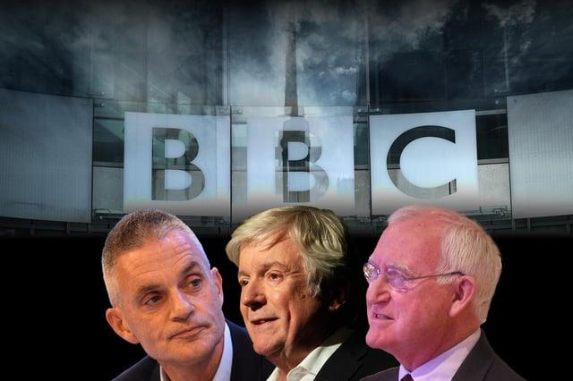 Tim Davie, Tony Hall and John Birt face a Commons committee over the BBC's handling of the Martin Bashir scandal (Photo: Mark Hall / JPI)