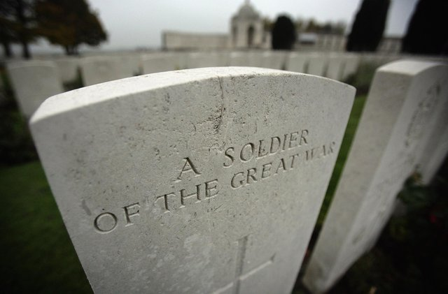 Most of the men were commemorated by memorials that did not carry their names (Photo by Matt Cardy/Getty Images)