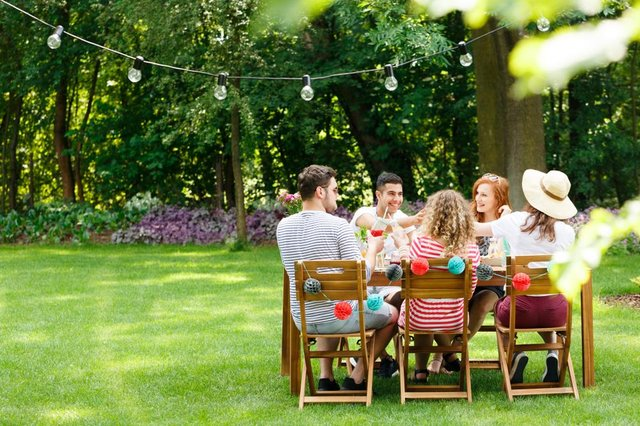 The rules regarding how many people can meet in a garden depends on where you live in the UK (Photo: Shutterstock)