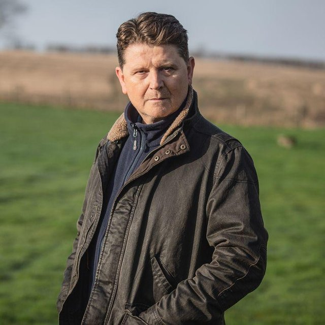 Dinsdale will resume his role as director, having met an explosive end in Emmerdale (Picture: ITV)