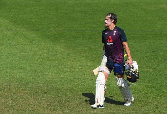 England batsman Rory Burns suffered a tough tour of India.