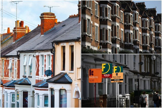 House prices rose by 4.1% in the year to September 2020 (Photos: Getty / Shutterstock)