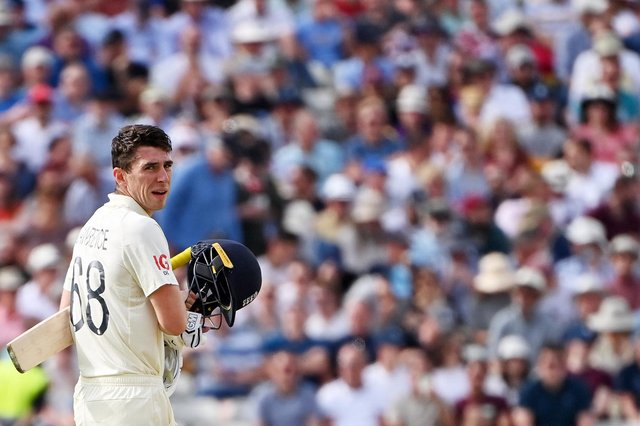 Dan Lawrence will start the second day of the second Test unbeaten on 67 as England look to build a competitive total forNew Zealand to chase. (Pic: Getty)