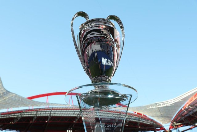 The Champions League Trophy is the most prestigious club title in European football.