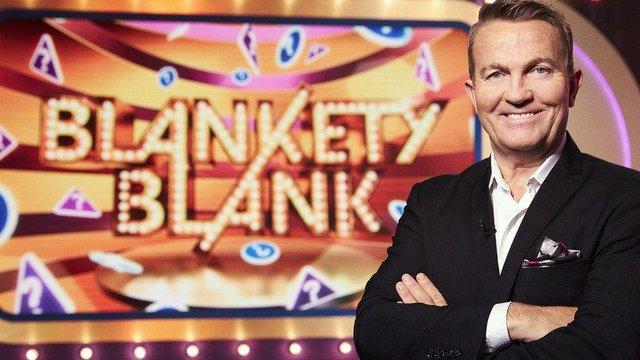 Actor and television presenter Bradley Walsh will present the new series of Blankety Blank (BBC)