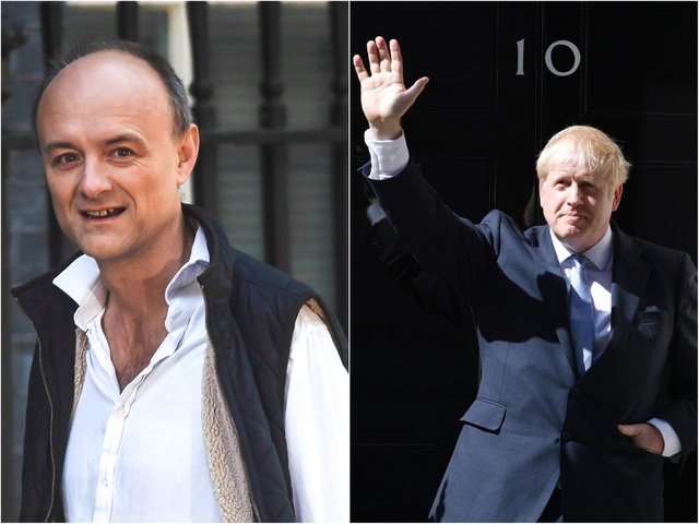 Dominic Cummings used to be Boris Johnson's top aide (Getty).
