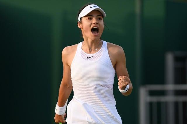 Bromley tennis star Emma Raducanu beat Marketa Vondrousova at Wimbledon 2021 to set up a third round tie with Sorana Cirstea. (Pic: Getty)