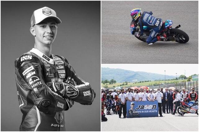 The rider passed away following a crash at the Mugello circuit of the Italian Grand Prix (Photo: MotoGP/Mirco Liazzari GP/Getty Images)