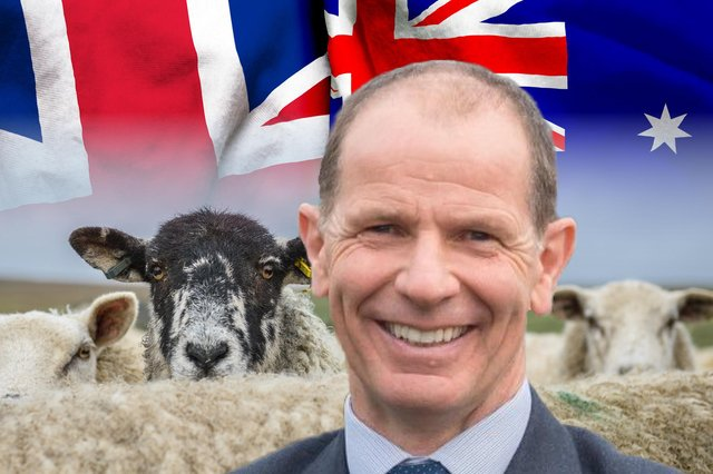 Jim Fairlie MSP argues that the UK-Australia trade deal was done with no consultation, no consent and no parliamentary scrutiny (Composite Image: Mark Hall/JPI Media)