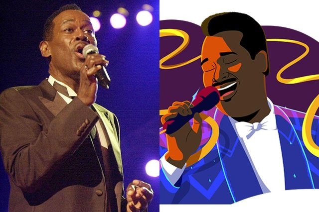 Luther Vandross earned himself the nickname Velvet Voice over the course of his career (Photo: Google/Sam Bass/Steve W Grayson/Online USA/Getty)