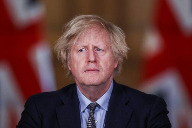 Prime Minister Boris Johnson speaks during a press conference at 10 Downing Street on 23 March 2021 (Photo: Hannah McKay - WPA Pool/Getty Images)