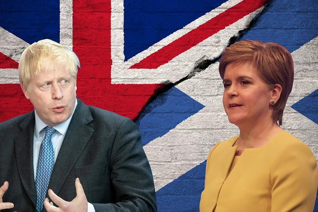 The 'once in a generation' argument against a second independence referendum needs to be left behind by the likes of Boris Johnson (Credit: Kim Mogg)