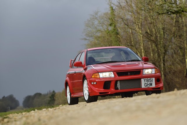 Perhaps the star of the auction is this 2001 Lancer Evo VI. The Tommi Makinen edition was built by Mitsiubishi to celebrate the Finn's fourth World Rally Championship at the wheel of one of its cars. Only 2,500 of the 276bhp rally-inspired road rockets were ever built, making any example desirable. However, this immaculate one is signed by the man himself, just adding to its kudos