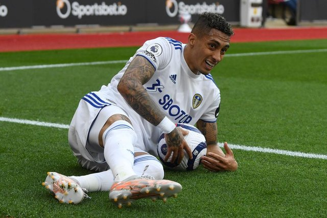 Raphinha had a hugely successful first season with Leeds United.