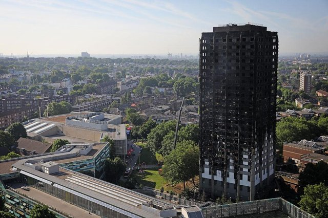 Grenfell residents have recalled a lack of fire safety advice (Getty Images)